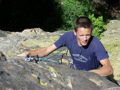 Rock Climbing Photo: Luke Kiefer on Schizophrenia.