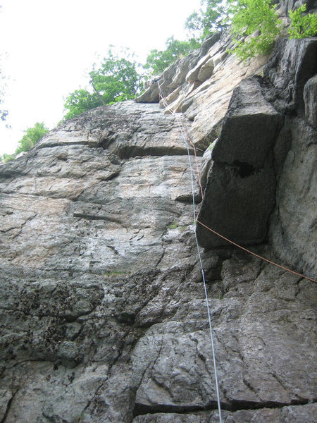 Rock Climbing Photo: As one pitch with doubles...