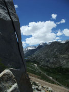 Rock Climbing Photo: pretty nice views for a roadside crag