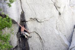 Rock Climbing Photo: Opening moves on Looney Tunes