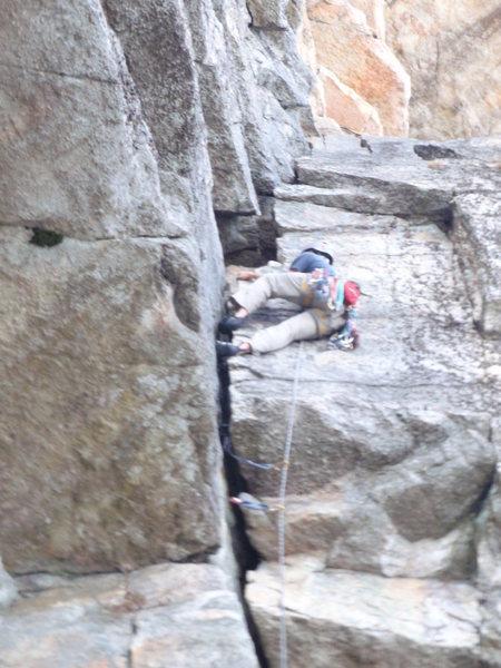 Rock Climbing Photo: Cruisin the Layback