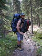 Rock Climbing Photo: Bug approach