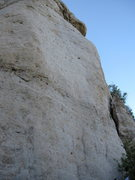Rock Climbing Photo: Choke Cherry Eyes goes up the center of the photo ...
