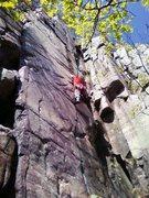 Rock Climbing Photo: Vince on Shooting Star