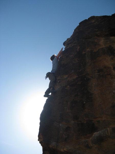 Rock Climbing Photo: Skin Graft 5.11b