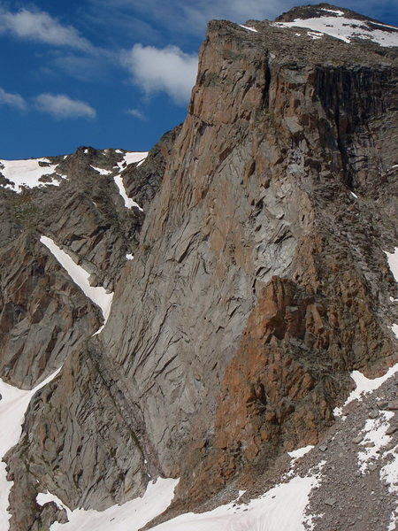 Rock Climbing Photo: The East Face of Mt. Alice.
