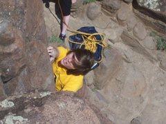 Rock Climbing Photo: super hardcore 5.15b