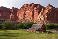 Rock Climbing Photo: Capitol Reef National Park, Utah