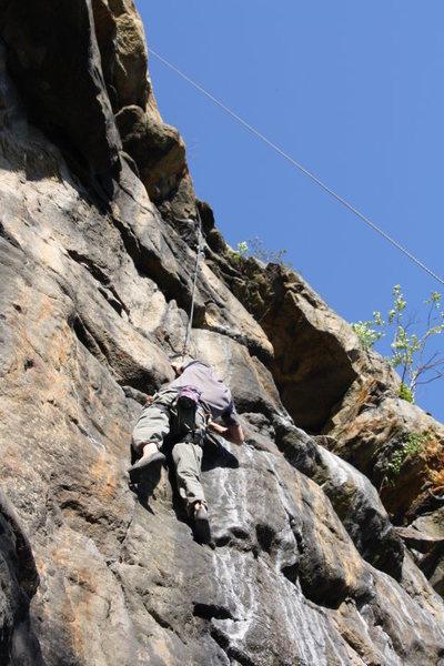 Rock Climbing Photo: Top roping I-Beam