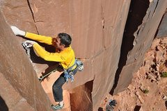Rock Climbing Photo: comic relief .12