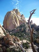 Rock Climbing Photo: Near Cochise Dome at Cochise Stronghold