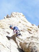 Rock Climbing Photo: A sport route above 8000 ft