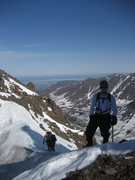Rock Climbing Photo: The Alaska Range 367 miles behind my back.  Denali...