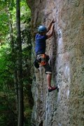 Rock Climbing Photo: Climbing To Defy the Laws of Tradition, RRG