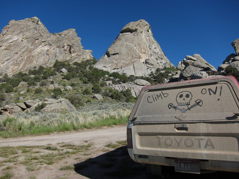 Camping spot near Twin Sisters