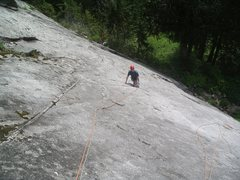 Rock Climbing Photo: Climbing Unknown 5.9