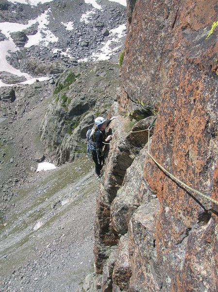 Rock Climbing Photo: Petit Grepon, RMNP
