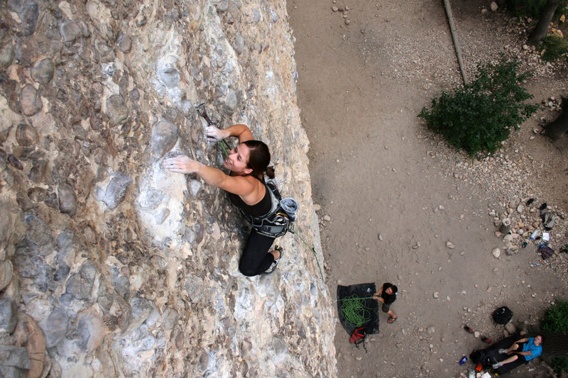 Rock Climbing Photo: The Minister at Maple Canyon