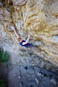 Rock Climbing Photo: Sudden Daydreams - finishing holds. Ted Kryzer, Ju...