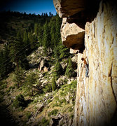 Rock Climbing Photo: The calm before the storm.  Photo by Angela Dembik...
