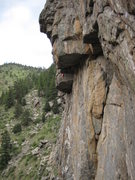Rock Climbing Photo: Profile of the Double Stout.  Under construction, ...