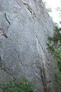 Rock Climbing Photo: Autumn Fire