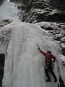 Rock Climbing Photo: Leading Ripple