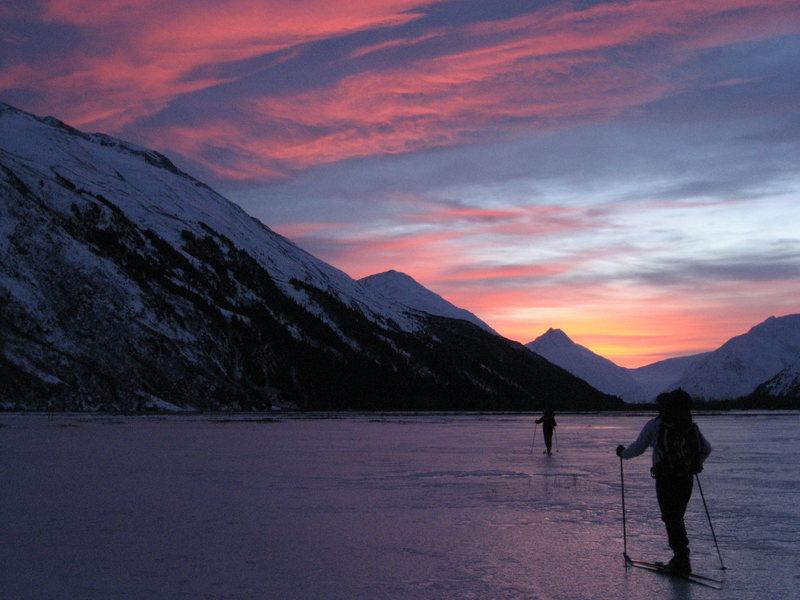 Gorgeous ski in