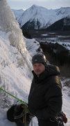 Rock Climbing Photo: Tony belaying