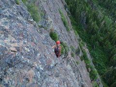 Rock Climbing Photo: Mule Hollow Wall