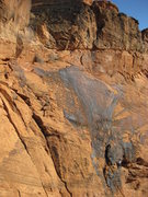Rock Climbing Photo: This picture gives a sense of the scale of the rou...