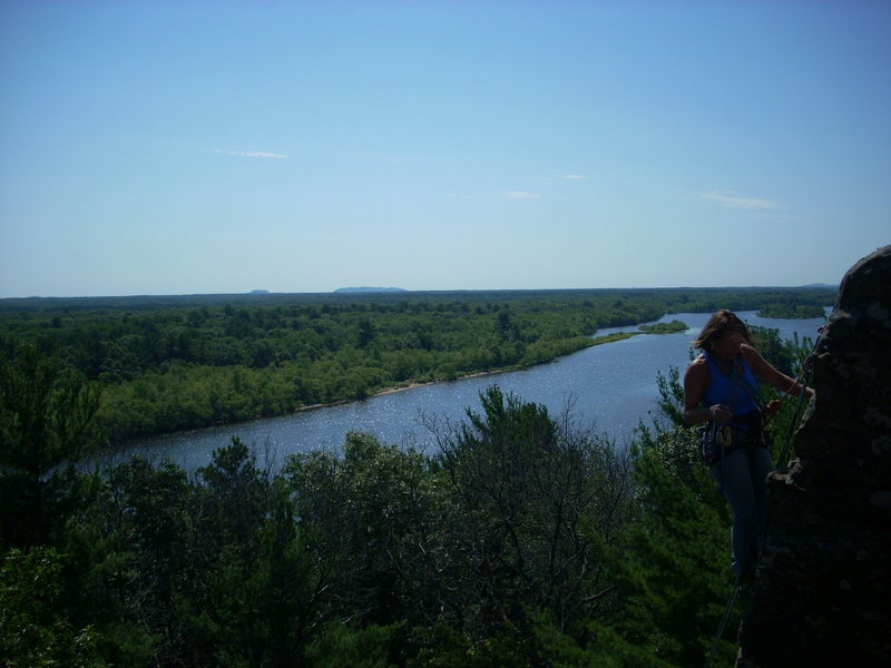 Top of Coyote Tower.