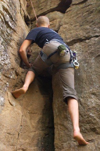 Rock Climbing Photo: Shoeless Revolution