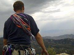 Rock Climbing Photo: Ryan enjoying the view
