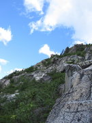 Rock Climbing Photo: The top half section of the northern ridge. 'The B...