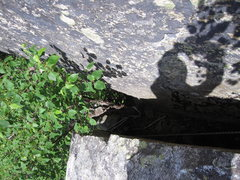 Rock Climbing Photo: The V groove start to the pillar next to the highe...