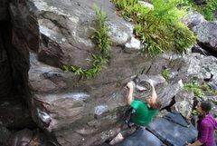 Rock Climbing Photo: The start of The Raisin