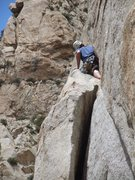 "Rock Climbing Photo: Rick Ziegler ""crawling on all sixes"" on ..."