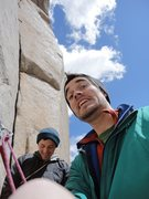 Rock Climbing Photo: look past the clowns and check out that corner!  p...