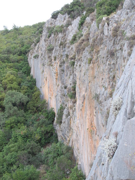 Rock Climbing Photo: View of Cennet.