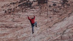 Rock Climbing Photo: Red Rocks Tiger Stripe Wall 10b 30 meters