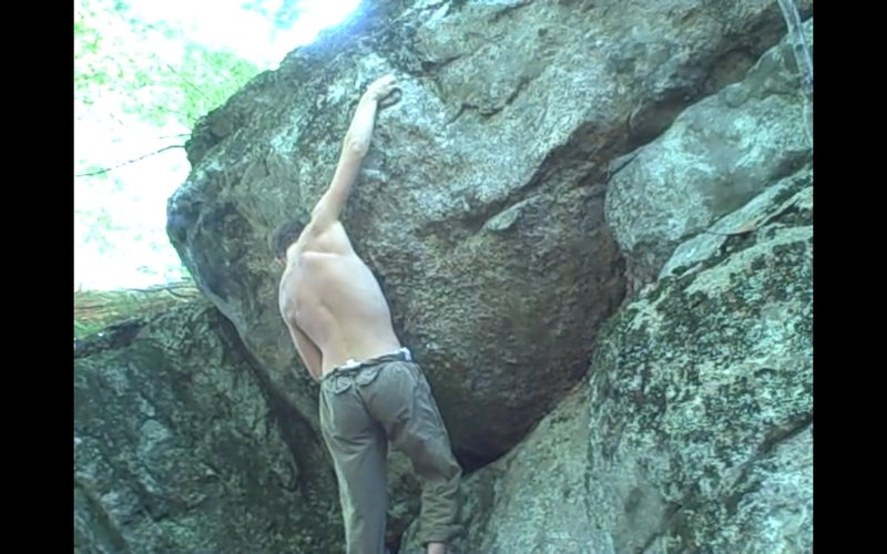 Rock Climbing Photo: interesting pinch