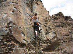 Rock Climbing Photo: Flashing the Dance