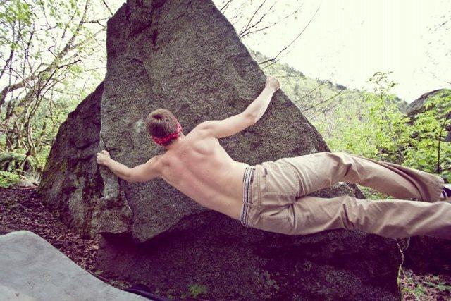 Rock Climbing Photo: Dot Com V Fun
