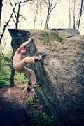 Rock Climbing Photo: Precious Metals V2