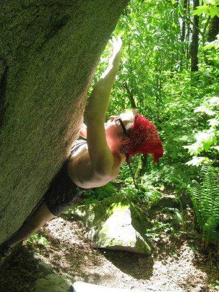 Rock Climbing Photo: Split Tip V3