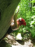 Rock Climbing Photo: Split Tip V3