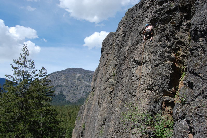 Rock Climbing Photo: Mazama, Washington