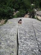 Rock Climbing Photo: Reppy's Crack 7/3/2010.