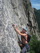 Rock Climbing Photo: Reppy's crack 7/3/2010. If this is you, contact me...